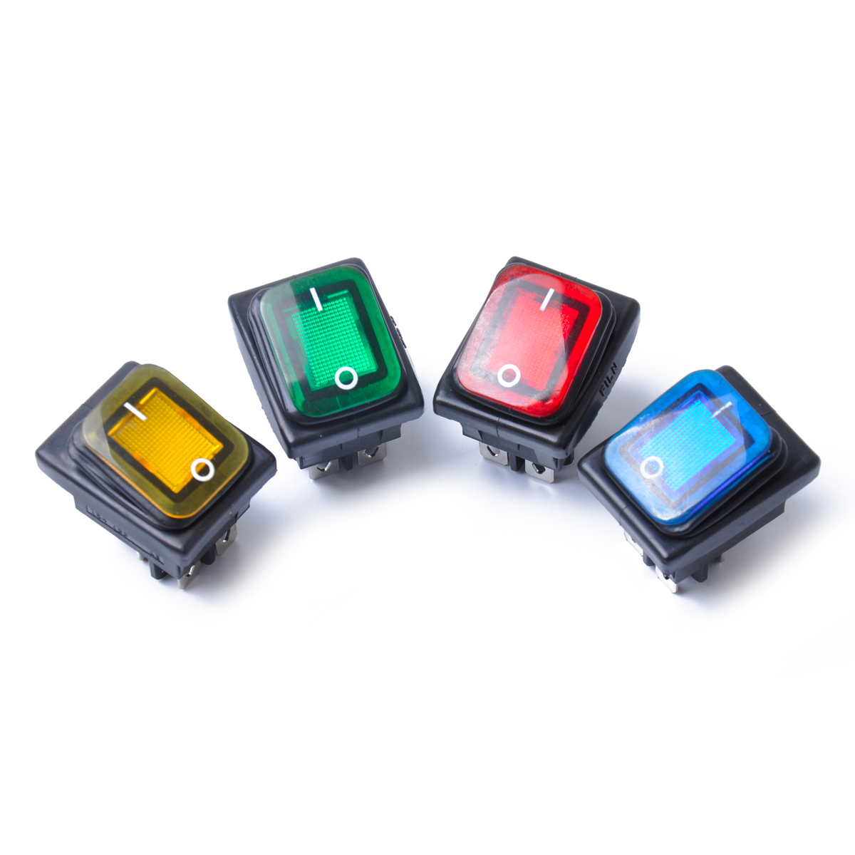 Automobiles & Motorcycles Marine Hardware Rocker Toggle Switch On-off-on 4 Pins 12v Dc Car Boat Automobiles Waterproof Led Latching Switches