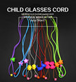 free shipping glasses spring chain ,glasses cord for children ,cartoon chain double color wholesale 120pcs