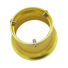 Voor 24/26/28/30 Mm Filter Wind Carburateur Aluminium 50 Mm Gold Universal Laatste Praktische beste(China)