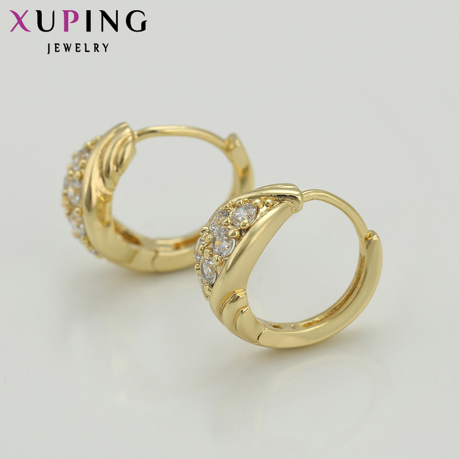 Xuping Fashion Earring Promosi Gaya Baru Perhiasan Anting Warna - Perhiasan fesyen - Foto 4
