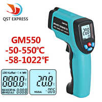 GM550-50 ~ 550 C Digital infrarot Thermometer Pyrometer Aquarium laser Thermometer Außen thermometer