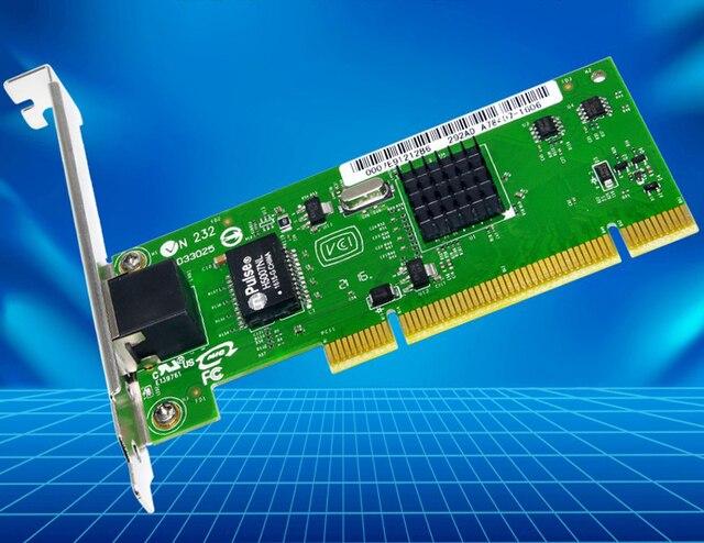 Uma Porta Gigabit Server Adapter 8490MT 32-bit PCI 10/100/1000 Mb Placa de Rede NIC