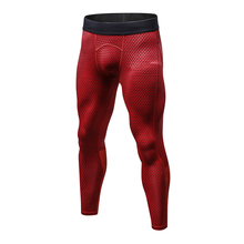 LoRun 2017 Men's Running Compression Pants White Althletic Fitness Training Basketball Trousers Sports Suit Tights Gym Leggings