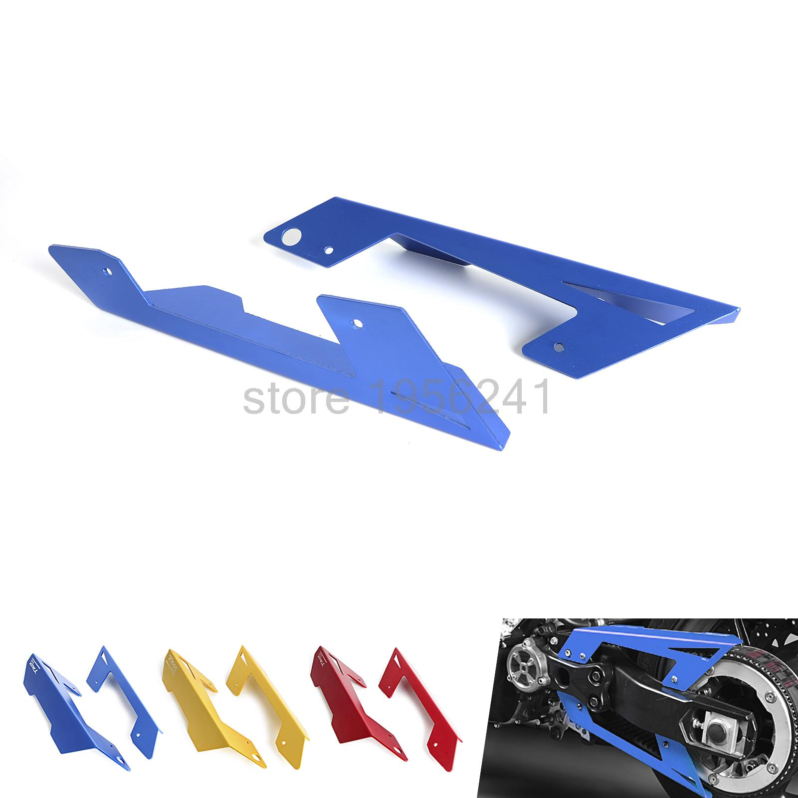 ФОТО Anodized Chain Protector Guard Cover Aluminum For YAMAHA TMAX530  2012-2015