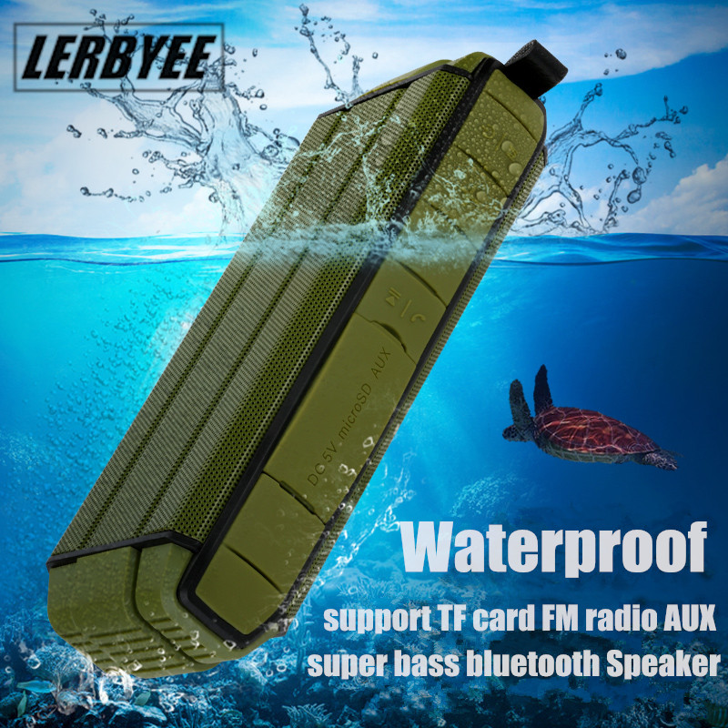 Bluetooth Speaker LONGET Super Bass wireless 3D stereo Dual 5W Drivers outdoor Sport Waterproof Speakers support MIC TF Card exrizu ms 136bt portable wireless bluetooth speakers 15w outdoor led light speaker subwoofer super bass music boombox tf radio