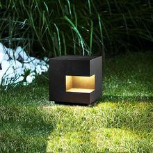 Водонепроницаемый простой современный газонный светильник популярная