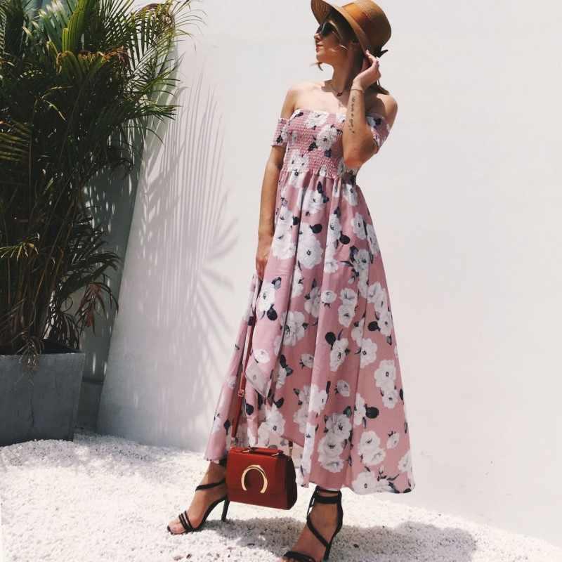 Vestidos Playeros Verano Mujer Vestidos Largos De Nuevas