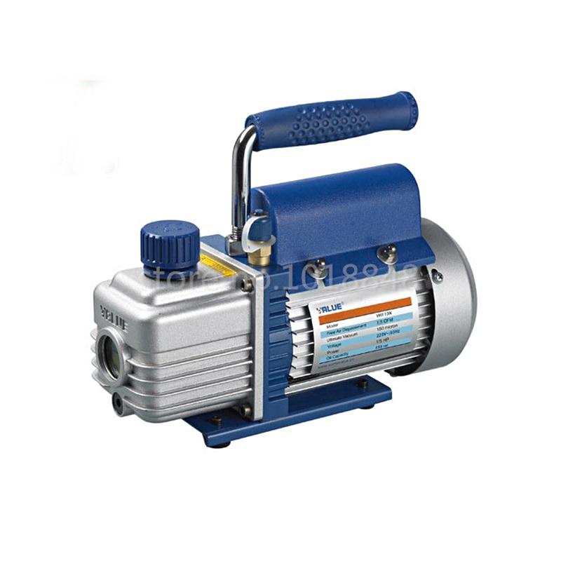 FY-1H-N Original mini portable air vacuum pump ultimate vacuum for Laminating Machine and LCD screen separator Freeshipping