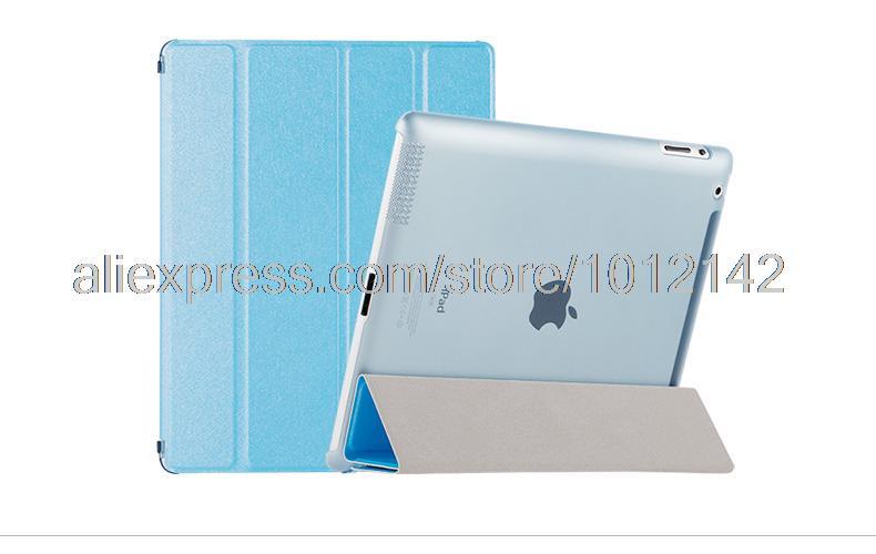 Impecable funda protectora de cuero de lujo para Apple iPad 2 3 4 de - Accesorios para tablets - foto 3