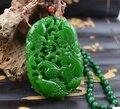 Hetian jade jade fish hollow-out the goldfish pendant