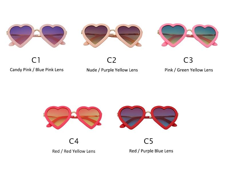 HTB1NaBBmxHI8KJjy1zbq6yxdpXaA - Children Kids Sunglasses Fashion Heart Shaped Cute UV400 Designer Frame Eyewear Baby Girls Sunglasses Sun Glasses