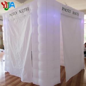 Image 5 - Hoge kwaliteit custom wedding party opblaasbare photobooth led photo booth tent