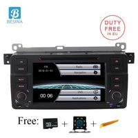Besina 1 Din Car DVD Player For BMW E46 M3 MG ZT Rover 75 Car Radio GPS Navigation Stereo Multimedia RDS Steering Wheel Control