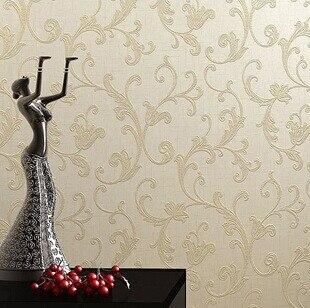 Golden Beige Wallpaper European Fashion Crochet Wallpaper Glitter Wallpaper Background Wall Floral Woven Living Room Bedroom Bedroom Set Bedroom Wallpaperbedroom Wallpaper Designs Aliexpress