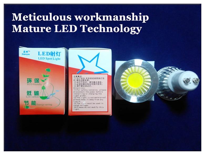50 шт в наборе с регулируемой яркостью 5 Вт 3 Вт GU10 E27 MR16 B22 E14 GU5.3 светодиодный COB Точечный светильник Потолочный подвесной светильник лампа светильник Инж