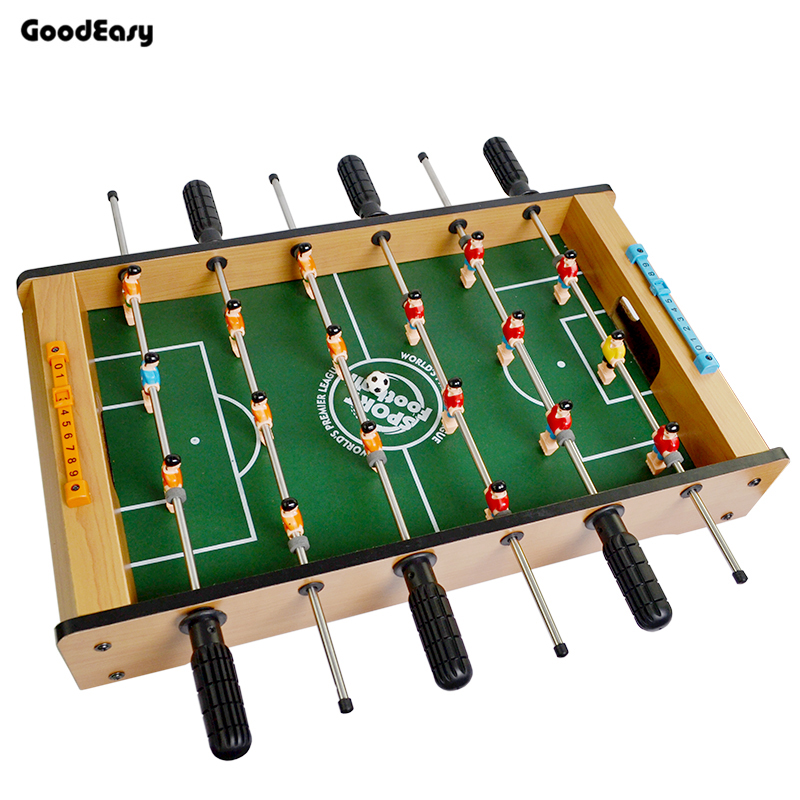 Plastic Games Table Football Fussball Soccerball Mixed Wooden Sports Gift Round Indoor Game Foosball Table Party Kids Play Toys