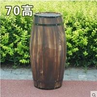 Oak 70cm high decorative wood wedding photography props grape cask wine cask barrel custom bar