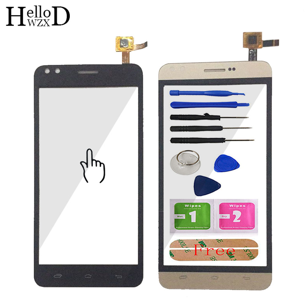 5.0'' Mobile TouchGlass For Prestigio Muze C3 PSP 3504 PSP3504 Duo Front Touch Screen Glass Digitizer Panel Lens Sensor Adhesive