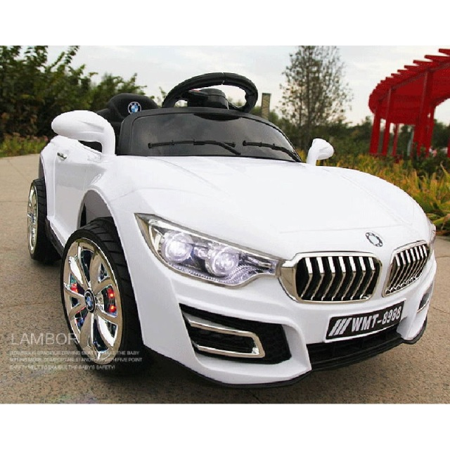 Children's electric car four-wheel dual-drive independent swing remote control toy car early education machine can take the baby