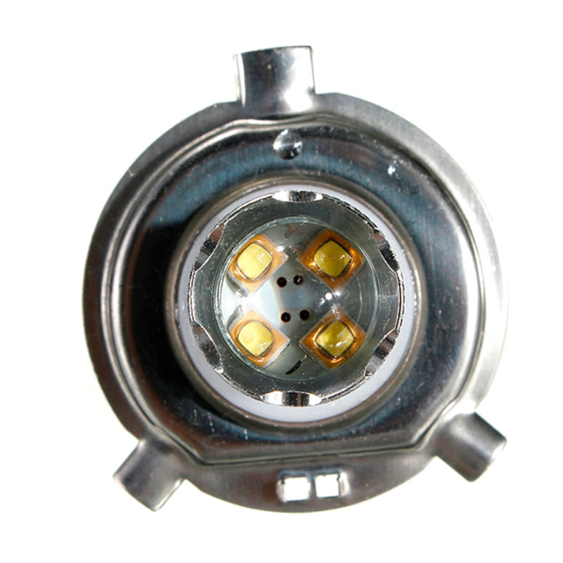 Low power White 80W H4 9003 HB2 LED DRL 12V Fog Light Bulb Headlight High Low Beam@21116