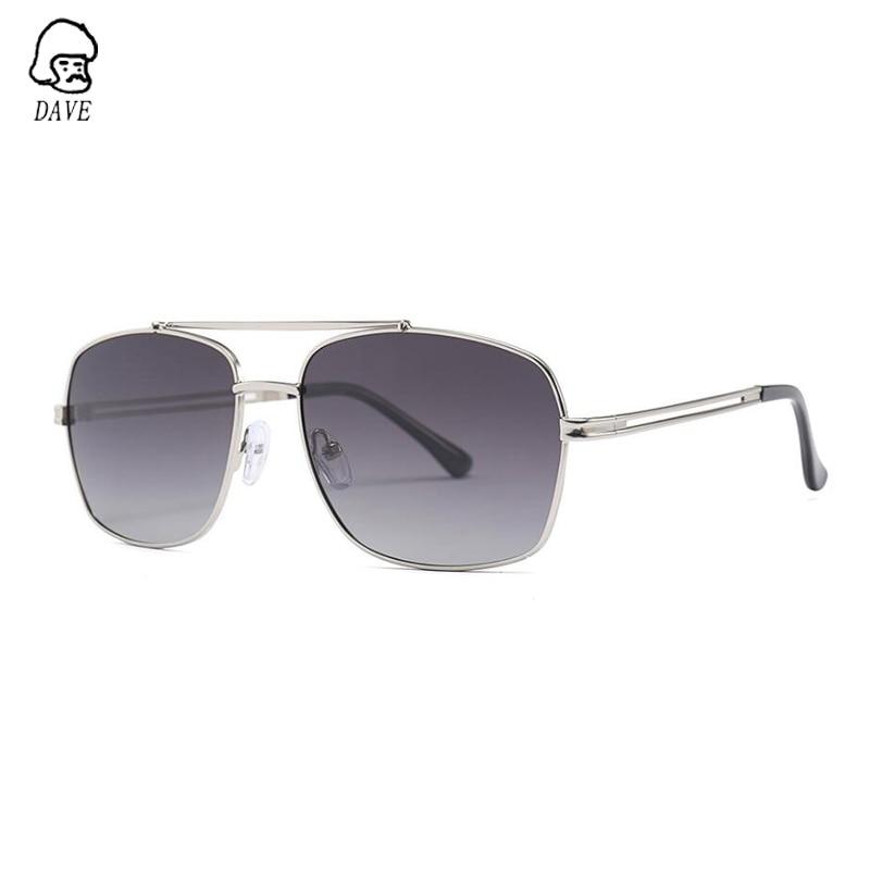 DAVE Polarized Sunglasses Men Brand Designer Square Fishing Driving Goggle Sun Glasses High-Quality Outdoor Eyewear UV400