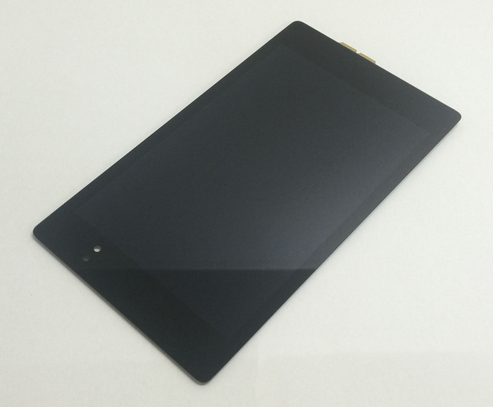 Full LCD Display Screen Panel Monitor + Touch Screen Digitizer Glass Assembly for ASUS Google Nexus 7 2nd ME570 ME571 Gen 2013 exaggerated vintage style golden spiral pendants alloy necklace for women