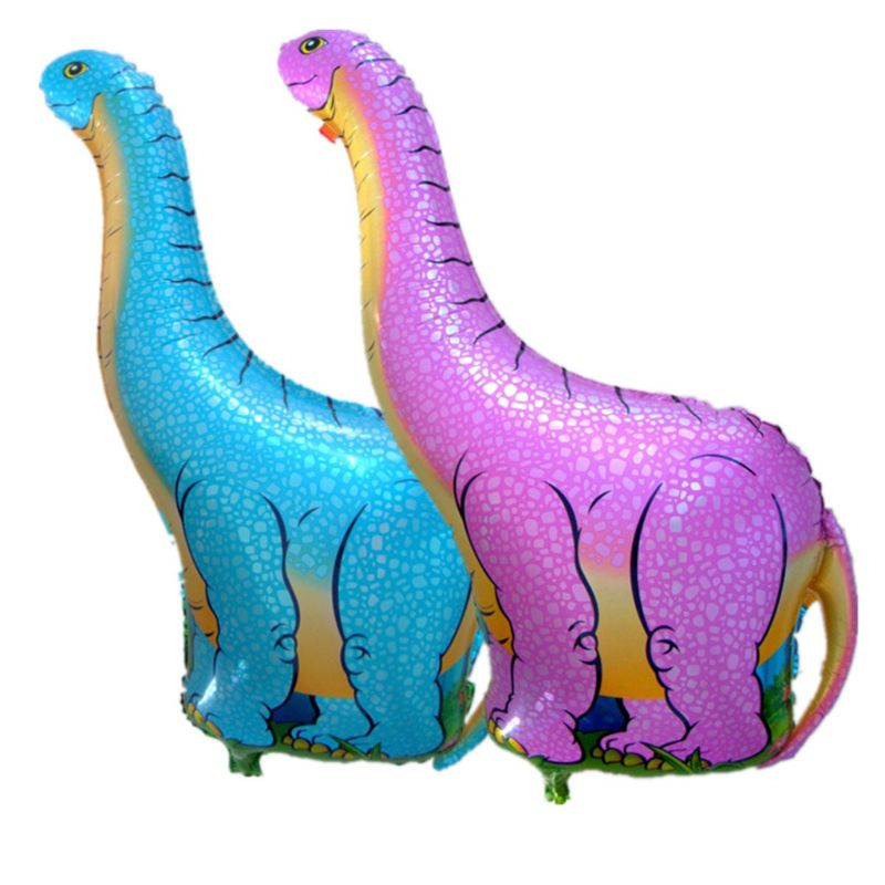 1Pc NEW Dinosaur Balloons Aluminum Foil Balloon Birthday Decoration Party Supplies Toy New