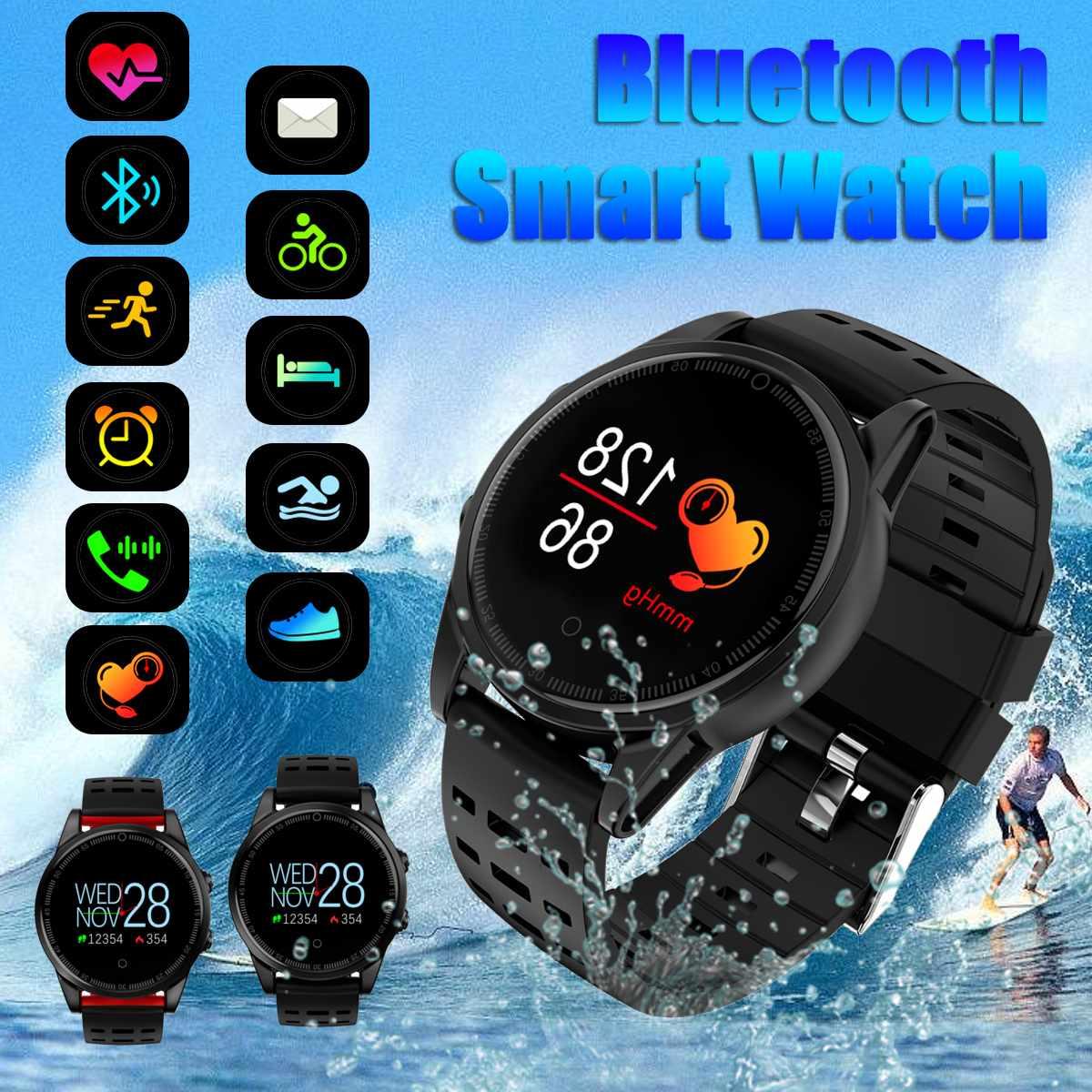 Montre intelligente sport Bracelet étanche sport bluetooth pour IOS pour iPhone Android pour Samsung alarme podomètre Message rappel