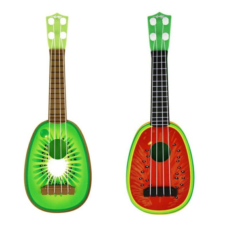Baby Kids Children Toys Design Children Learn Guitar Ukulele Mini Fruit Can Play Musical Instruments Toys