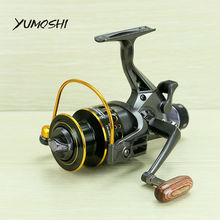 YUMOSHI 2017 new 10+1 BB Front and Rear Drag reels 3000 4000 5000 6000 fishing reels