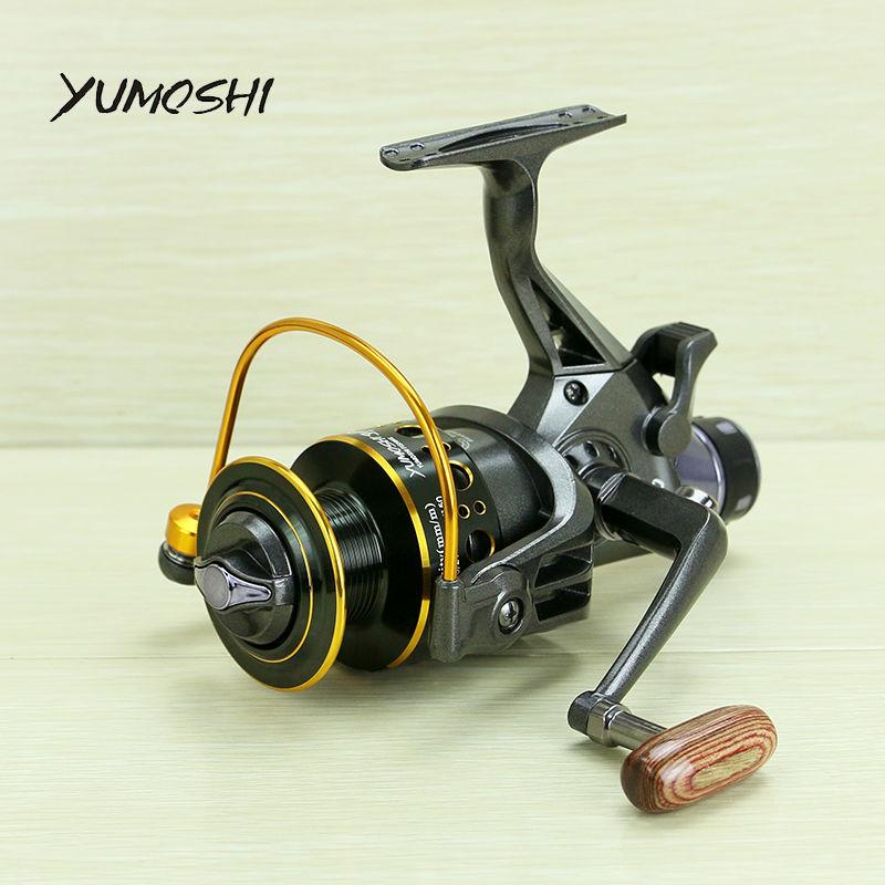 YUMOSHI 2017 nuovo 10 + 1 BB Anteriore e Posteriore Trascina bobine 3000 4000 5000 6000 bobine di pesca