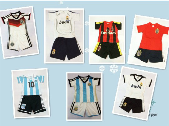 8bca885b5eb 100% Cotton 2014 World Cup Argentina Baby soccer jersey Rompers,0 3 ...
