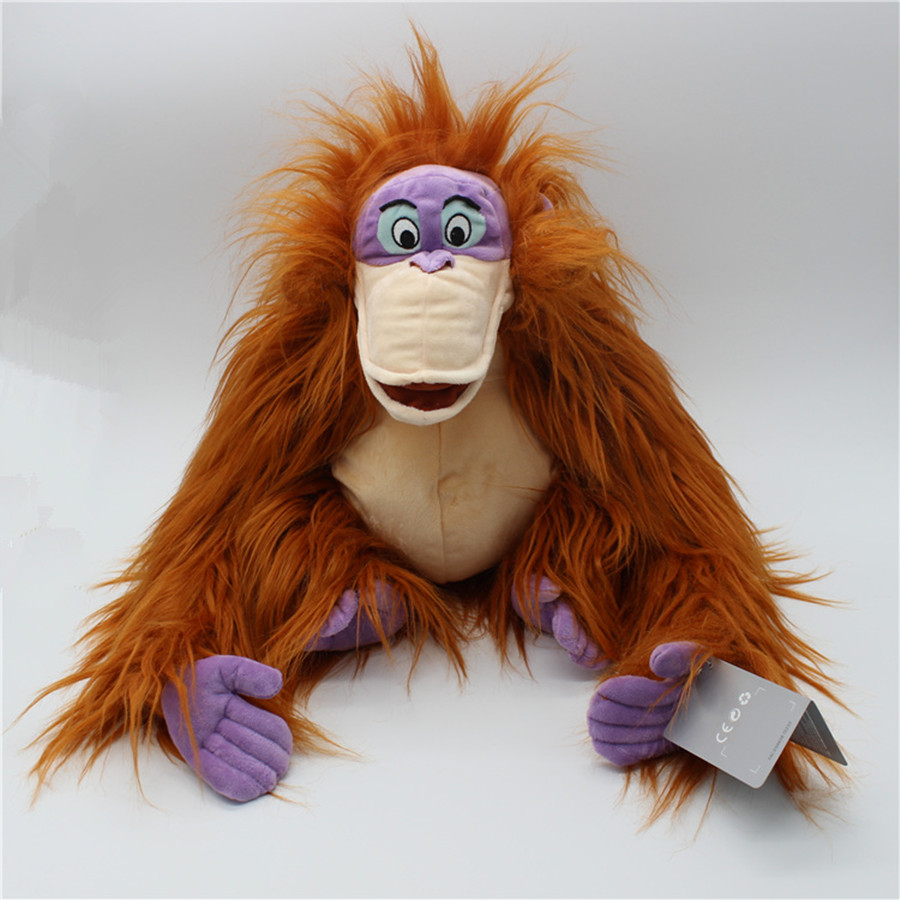 1pcs 30cm The Jungle Book King Louie Soft Doll Super Soft toy
