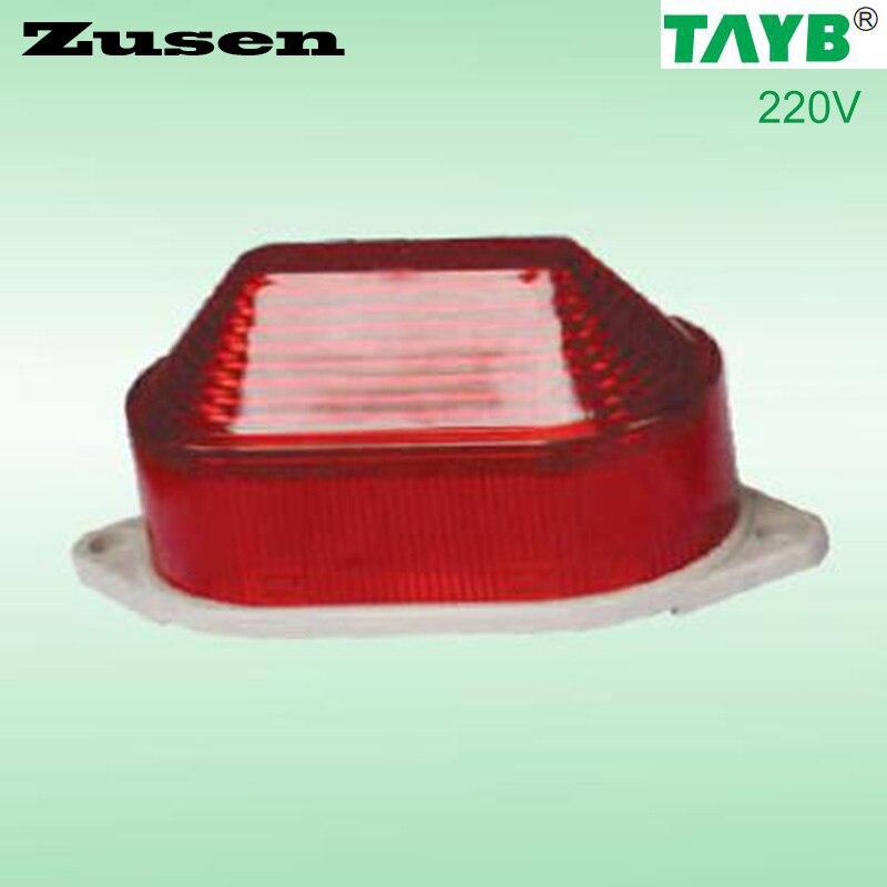 Zusen TB40 220V RED Led Security Alarm Strobe Signal Warning Light LED Lamp Small Flashing Light