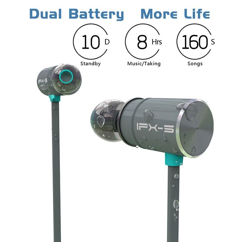 Original Plextone BX343 Drahtlose Bluetooth Kopfhörer IPX5 wasserdicht Tragbare HIFI bass stereo High-end-Sport mit mic Headset