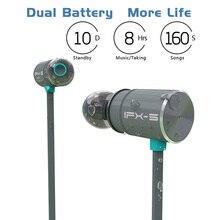 Ban Đầu Plextone BX343 Không Dây Bluetooth IPX5 Chống Thấm Nước Di Động HIFI Bass Stereo Cao Cấp Thể Thao Có Mic Tai Nghe