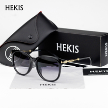 HEKIS 2017 New Classic Fashion Sunglasses Women Frame Lady Sun Glasses Eyewear Accessories oculos de sol D1722