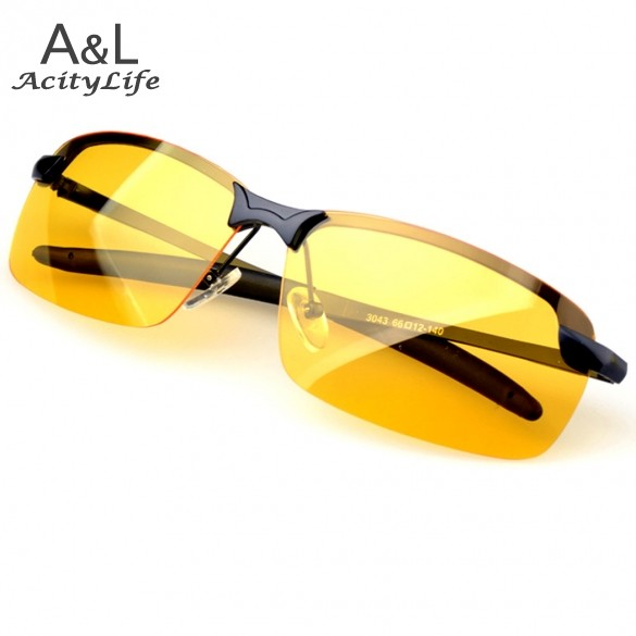 ray ban 3025 polarized night vision sunglasses  polarized sunglasses night vision goggles mens car driving glasses anti glare