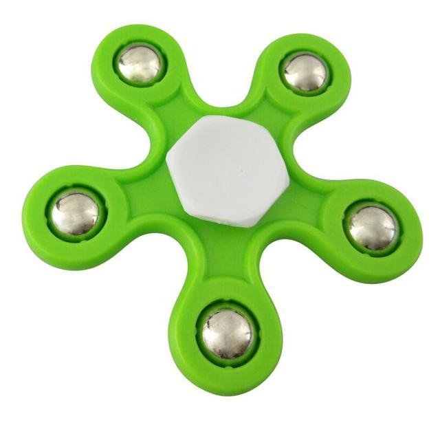 Plastic Flower Fidget Spinner