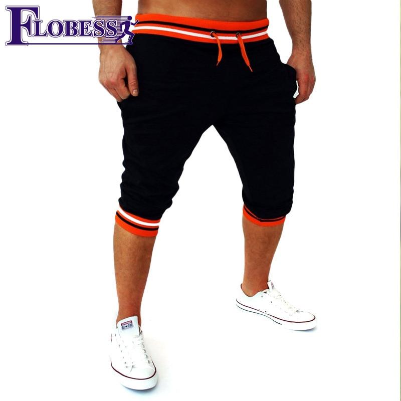Sport Clothing Stripe Running Shorts Men 2018 New Sportswear Fitness Jogging Sports Shorts font b Football
