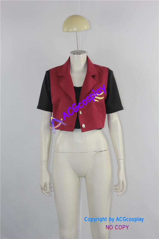 Resident Evil Claire Redfield Jacket Cosplay Costume ...