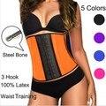 New Plus Size Ann Chery Tarde Cintura Trainer Trainer Cintura Sexy Corset Underbust Aço Desossado Espartilhos E Corpetes Para Mulheres