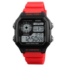 SKMEI Top Sports Watch Womens Display Electronic Outdoor Student Waterproof Luminous Relogio Watches