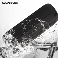 Allvcover Outdoor Waterproof Super Bass Bluetooth Speaker Mini Column Portable Wireless Loud Speakers for iPhone X Samsung S8 S9