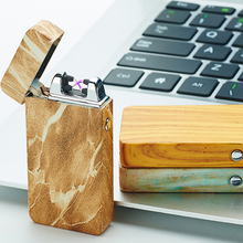 Latest USB Arc Lighter Metal USB Rechargeable Windproof No Gas Smokeless Flameless Electric Cigarette Lighter Perfect Gift