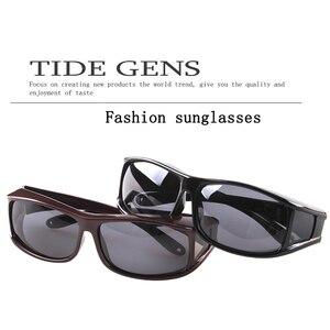 شحن مجاني الاستقطاب النظارات الشمسية UV400 صالح أكثر من النظارات onnebril للرجال و نظارات نسائية غطاء نظارات شمسية الصيد نظارات