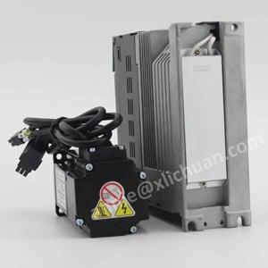 Image 3 - Lichuan 400w servo motor with driver kit 60st 01330 ac servo motor AC220V 3000rpm AC motor servo cnc for cnc servo kit