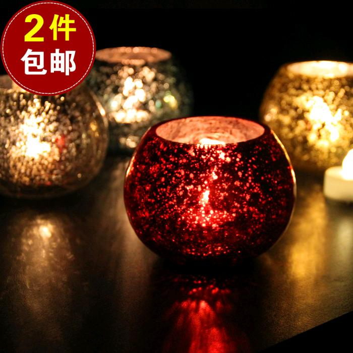 Lovely Super Beautiful Ice Glass Candlestick European Romantic Wedding Birthday  Gift Bar Room Decoration Candle Cup In Candle Holders From Home U0026 Garden On  ...