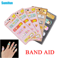 50pcs/lot Cartoon Family Plaster Band Aid Sterile Haemostasis Sticker First Aid Medical Kit Adhesive Wound Dressing C653