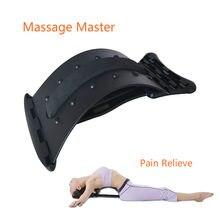 Lenden massage Zurück Bahre Yoga Bahre Ausrüstung Wirbelsäule Supporter Relief schmerzen taille entspannung